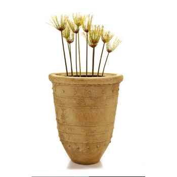 Vases-Modèle Bali Tall Urn, surface marbre vieilli-bs2180ww
