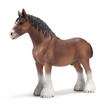Figurine Schleich Poulain Clydesdale -13670