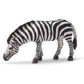 figurine schleich afrique zebre broutant 14609
