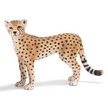 Figurine Schleich Afrique Guépard femelle -14614