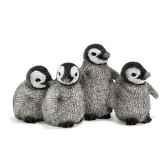 figurine schleich animaux arctique et antarctique bebes pingouin 14618