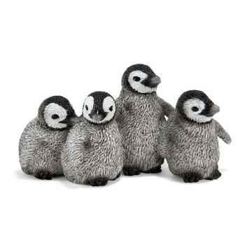 Figurine Schleich Animaux Arctique et Antarctique Bébés pingouin -14618