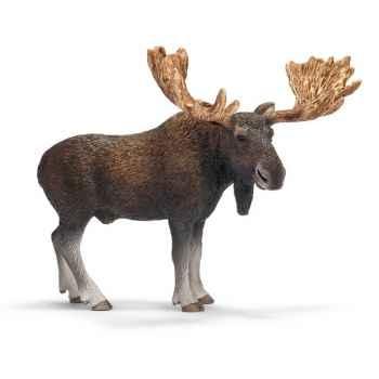 Figurine Schleich Animaux Europe Elan male -14619