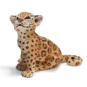 Figurine Schleich Animaux Amérique Bébé jaguar -14622