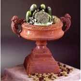 vases modele french planter surface en fer bs3027iro