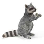 figurine schleich animaux amerique raton laveur debout 14624