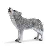 figurine schleich animaux amerique loup hurlant 14626
