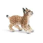 figurine schleich animaux europe bebe lynx 14628