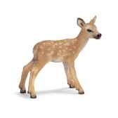 figurine schleich animaux europe cerf rouge faon 14629