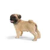 figurine schleich chien carlin male 16381