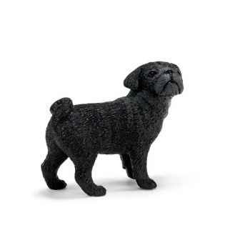 Figurine Schleich chien Carlin femelle -16382