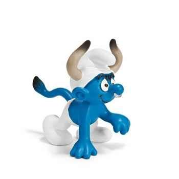 Figurine Schleich Astrologie Schtroumpf Taureau -20721