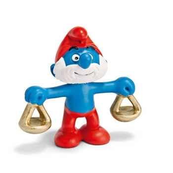 Figurine Schleich Astrologie Schtroumpf Balance -20726