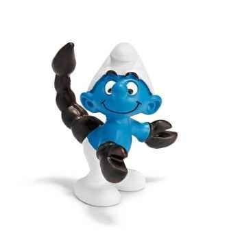 Figurine Schleich Astrologie Schtroumpf Scorpion -20727
