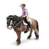 figurine schleich accessoires chevaux set d equitation poney 42039