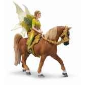 figurine schleich elfes tinuveeavec set equitation 42044
