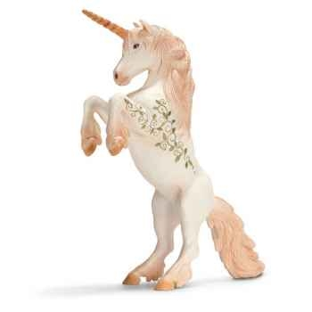 Figurine Schleich Elfes Licorne se cabrant -70421