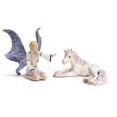 figurine schleich elfes lindarieavec poulain licorne 70424