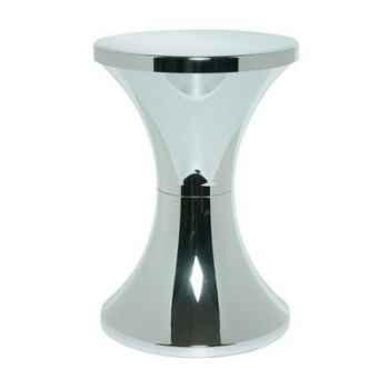 Tabouret Branex Design Tam Tam Chrome Argent -15028
