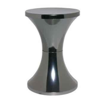 Tabouret Branex Design Tam Tam Chrome Titane -15034