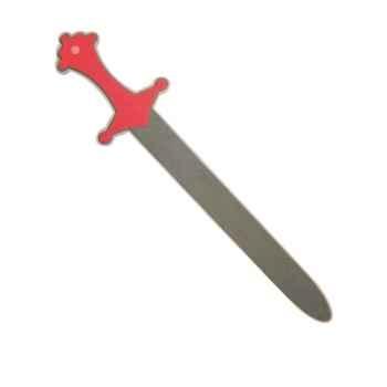 Epée rouge en mousse Excalibur -12480