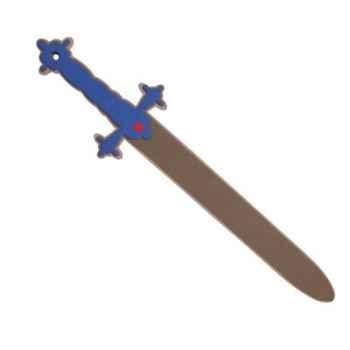 Epée bleu en mousse -12473
