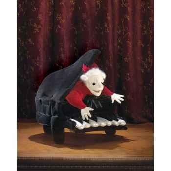 Marionnette peluche Folkmanis Mozart au piano -2860