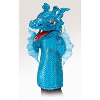 Marionnette peluche Folkmanis Serpent de mer -2874