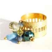 bague santa fe bleu les joyaux de la couronne
