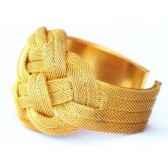 bracelet metamanchette or les joyaux de la couronne
