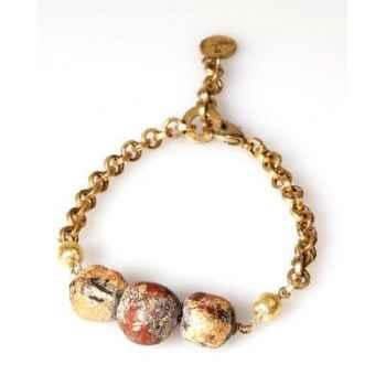 Bracelet SAHEL Boudha chaîne Les Joyaux de la Couronne