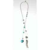 collier cravate santa fe turquoise les joyaux de la couronne