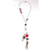 collier cravate santa fe turquoise corailes joyaux de la couronne