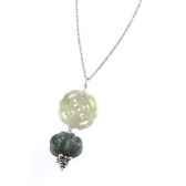 collier dentelle jade agate les joyaux de la couronne