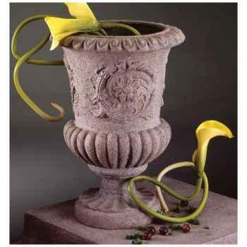 Vases-Modèle Victorian Urn, surface pierre romaine-bs2101ros