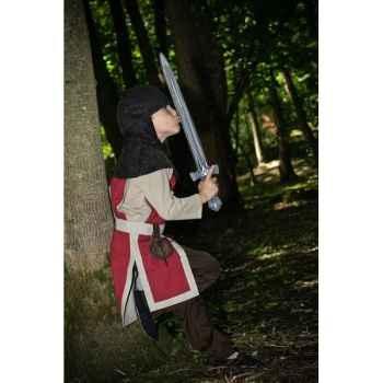 Tunique réversible pour costume chevalier Albert le Grand  6-8 ans