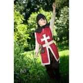 tunique reversible pour costume chevalier albert le grand 3 5 ans et accessoire