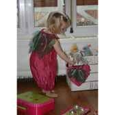 costume robe fraise des bois 3 5 ans