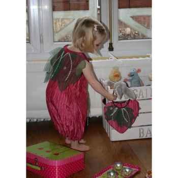 Costume Robe Fraise des Bois 3-5 ans