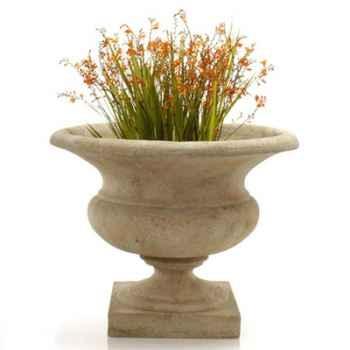 Vases-Modèle Orbe Urn, surface marbre vieilli-bs3167ww