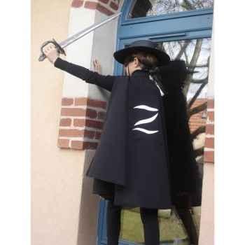 Cape pour costume Zorro Z 3-5 ans
