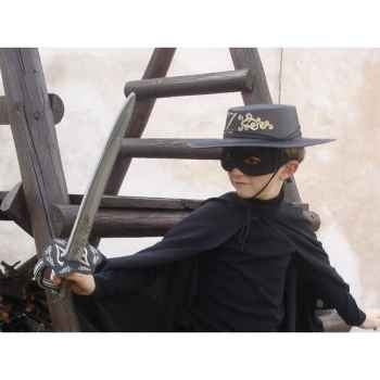 Masque pour costume Zorro Z