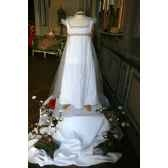 costume robe blanche imperatrice ou mariee 4 5 ans