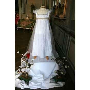 Costume Robe Blanche Impératrice ou mariée 4-5 ans
