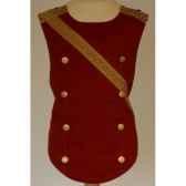 plastron pour costume napoleon reversible 6 8 ans