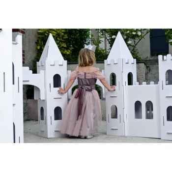Costume Robe Petite princesse 5-6 ans