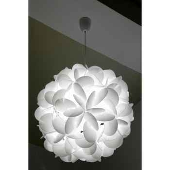 Luminaire Supension Raoul Raba E60 blanche Designheure -se60b