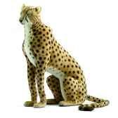 peluche anima leopard assis 110cm