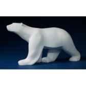 statuette ours blanc pompon pom11
