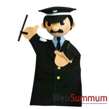 Marionnette Policier Anima Scéna 22596A